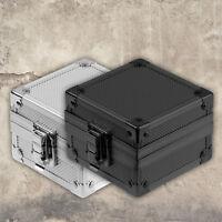 Fashion Wrist Watch Jewelry Storage Display Present Gift Box Case Aluminum New