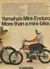 1970 Yamaha Mini-Enduro - more than a mini-bike Vintage Motorcycle Ad