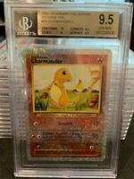 BGS 9.5 Gem (PSA 10) CHARMANDER REVERSE HOLO Pokemon Legendary Collection #70