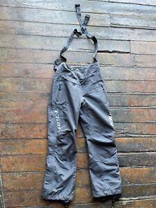 Klim Alpine Snowmobile Ski Winter Snow Bibs Pants Suspenders Gore Tex