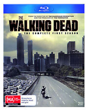 The Walking Dead-Complete First Season 2 Disc Blu-ray Set+Featurettes FREE SHIP