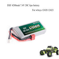 DXF 7.4V 2s 4200mah 20C Max 40C  Lipo battery For wltoys 12428 12423 car parts