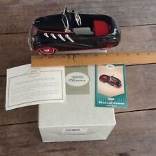Metal Peddlecar 1937 Auburn Edition Kiddie Car Classics peddle Hallmark auto new