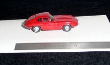 RED JAGUAR E TYPE COUPE' WIKING 1:87 SCALE BLACK INT. XKE FHC
