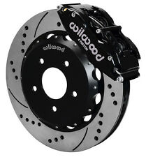 "WILWOOD DISC BRAKE KIT,FRONT,2007-2015 JEEP WRANGLER,JK,14"" DRILLED ROTORS"