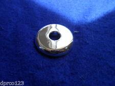 """1/2"""" CTS COPPER PIPE ESCUTCHEON SPLIT PLASTIC (CHROME PLASTIC)FOR 5/8""""OD PIPES"""