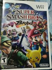 Super Smash Bros. Brawl (Wii, 2008) (Tested) (Manual Included)