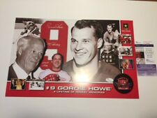 AUTO SIGNED GORDIE HOWE MR. HOCKEY HAPPY 80th BIRTHDAY AUTOGRAPH JSA CERT