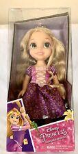 "2016 Disney Princess Toddler Rapunzel ""Tangled"" Doll NIB"