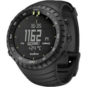 Suunto Core Durable Composite Case All Black Outdoor Smartwatch SS014279010