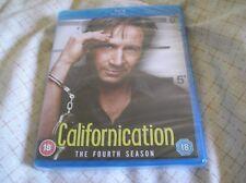 Californication - Season 4 Blu-ray, 2-Disc Set New