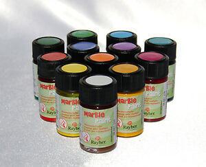 (14,25 €/ 100 ml) Marble Paint, Marmorierfarbe, 20 ml *Farbwahl* Ostereier