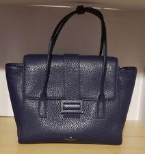 Kate Spade New York Carlyle Street Alexa Blue Ridge Pebbled Leather Satchel