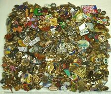 Jewelry Lot 400+ Lapel Pins Brooches Flags Angels Travel Sports + Vintage-Now