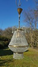 Pretty Vintage bohemian 1950's empire chandelier  (MP0100)