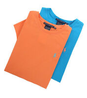 Ralph & Lauren Women's Short Sleeve Solid Crew-Neck Tee T-Shirt - $0 Free Ship