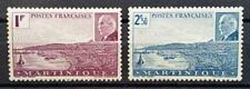 MARTINIQUE - 1941 - Marshal Petain - Full set of 2 MNH stamps