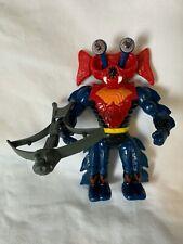 Vintage 1984 He-man Masters Universe Figure MOTU Mattel Mantenna Complete Bow
