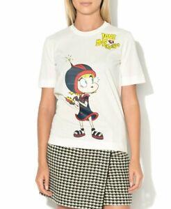 Moschino Graphic Print T-Shirt Size 6