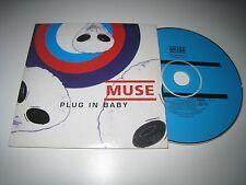 Muse Plug in Baby/nature _ 1 cardboard sleeve CD V. 2001 naiverecords nv3852-1