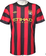 Nuevo Manchester City Away camiseta de fútbol Camisa intermedia de los Niños 9-10 Años 2011/2012