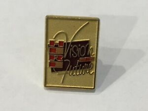 Collectible Lapel Hat Pin - Here Vision for the Future by Bastian