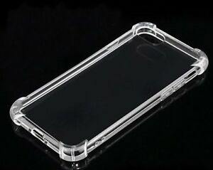 360° CLEAR TPU Case Shockproof  Protector back gel case Cover For i phone 5SE