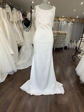 Paul Fox  Sheath Wedding Dress UK 12