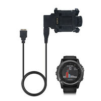 USB Charger Cradle Dock Clip Stations Cable for Garmin Fenix 3 HR/Quatix 3 Watch