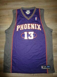 Steve Nash #13 Phoenix Suns NBA Premier Reebok Jersey 54