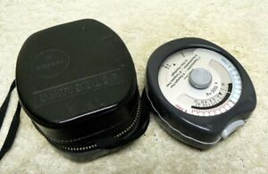 Gossen SIXTICOLOR Photography COLOR Temperature Meter with Case. Working & NICE!