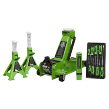 Trolley Jack 3tonne Super Rocket Lift Axle Stands 3tonne Screwdrivers LED Light