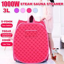 3L 1000W Steam Sauna Sweat Steamer Fumigator Full Body Detox Sp