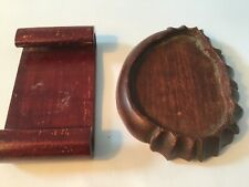 Vintage Small Wooden Display Stand 2