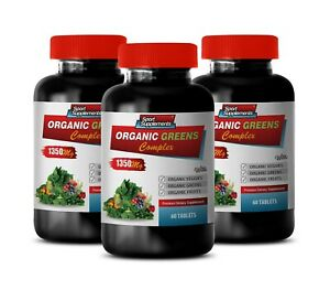daily multivitamin tablets - ORGANIC GREENS COMPLEX 1350MG - fat burning 3B