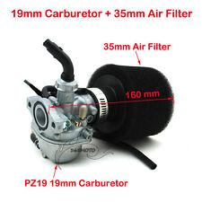 PZ19 Carby Carburetor Air Filter 50cc 70 90 110 125 cc ATV Dirt Pit Bike Go Kart