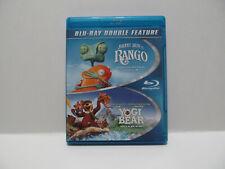 Rango Yogi Bear (Blu-ray Disc, 2014, 2-Disc Set) Double Feature Blu Ray