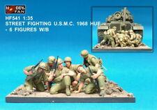 Hobby Fan 1/35 HF-541 USMC Street Fighting (1968 HUE Vietnam) - 6 Figures w/Base
