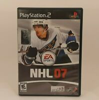 NHL 07 Complete PS2 Sony Playstation 2