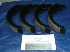 GMC/CHEVY TRUCK REAR BRAKE SHOES COMPLETE RIVETED SET - SERIES: 20/25/30/35