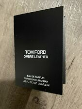 TOM FORD Ombre Leather EDP Eau De Parfum Sample Spray .05 oz / 1.5 ml New