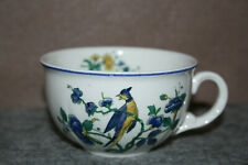 Phönix Blau neuwertige Teetasse  / Kaffeetasse bauchige Form Villeroy & Boch
