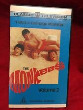 The Monkees Volume 2 VHS Video Tape Classic Television