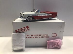 Danbury Mint 1955 Oldsmobile Super Eighty-Eight Convertible Diecast Original Box