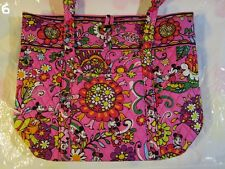 VERA BRADLEY Disney Vera Large Tote Bag XL Just Mousing Around TAGS EXACT J6
