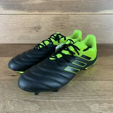 NEW ADIDAS COPA 19.3 FG SOCCER CLEATS BB8090 BLACK NEON SIZE 13 US SELLER