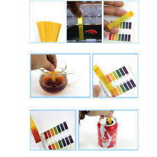 80 TEST STRIP PH Tester Tropical Aquarium Cold Water Fish Tank Wood Testing Kit