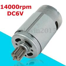 RS390 Electric Motor 6V 14000RPM For Kids Ride On Car Bike Toy Gear Box Motor