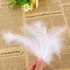 200PCS Marabou Feathers For Wedding Decor Millinery Art Craft/ Wedding Decor