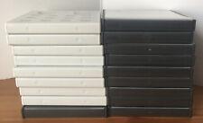 EMPTY Nintendo Black DS Game & White 3DS Cases Boxes Joblot Bundle X 18